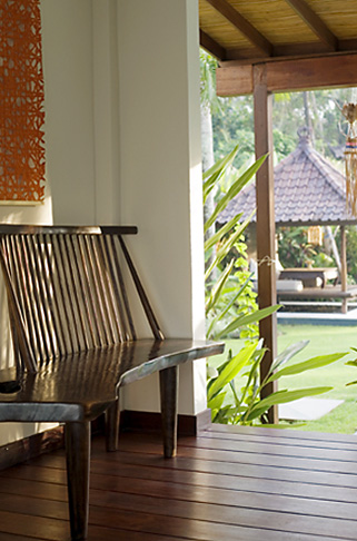 The Shore - private beachfront luxury villa rental in Bali